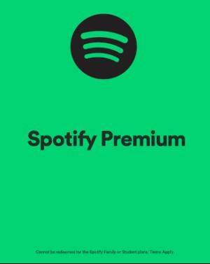 Spotify 10 USD